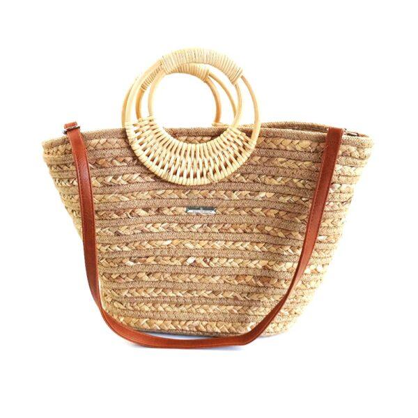Ψάθινη Ττσάντα Χειρός Bag to Bag