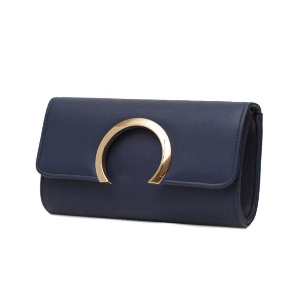 Τσάντα Φάκελος Βραδινή FRAGOLA C141 BLUE