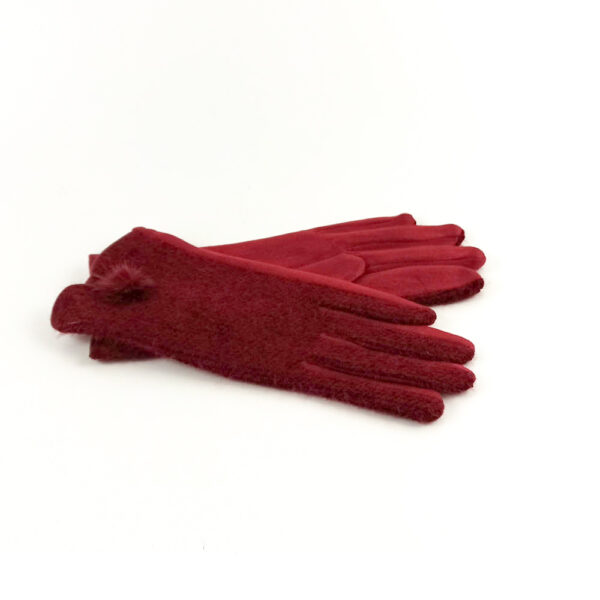 Γυναικεία Γάντια Με Pom Pom