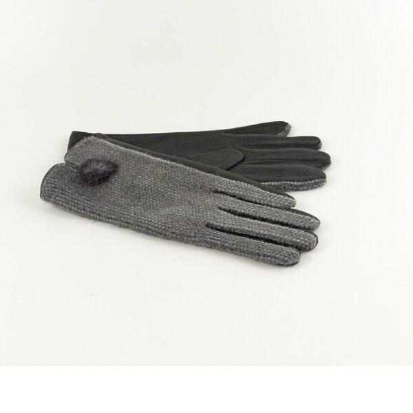 Γάντια Με Pom Pom
