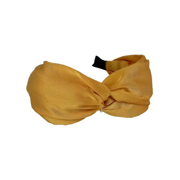 Σατέν Στέκα Μαλλιών Με Κόμπο