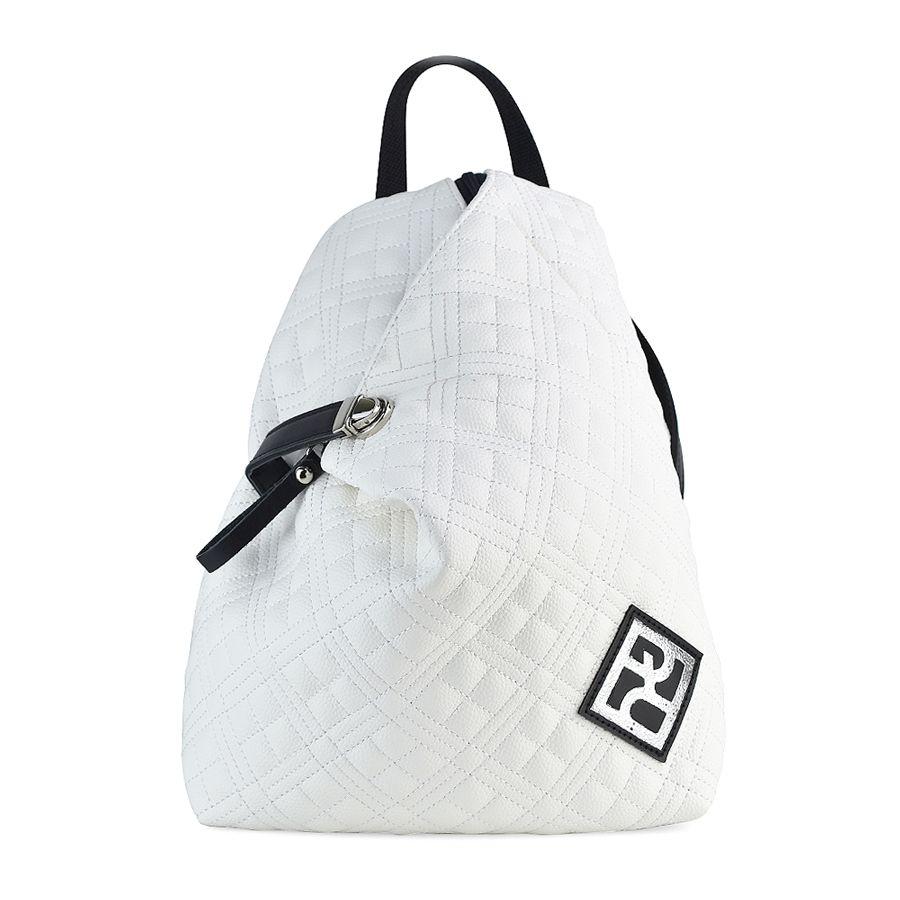Σακίδιο Πλάτης Καπιτονέ Pierro Accessories 09517KPT07 WHITE
