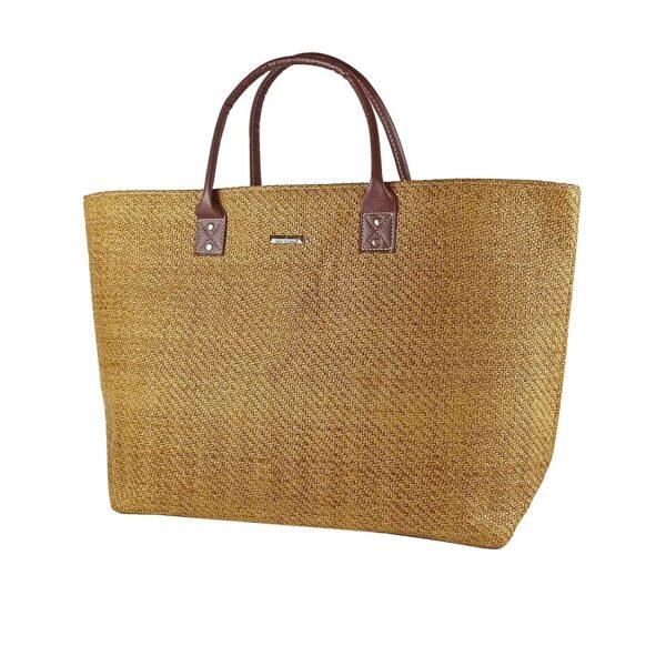Τσάντα Θαλάσσης Ψάθινη Bag to Bag